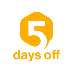 5 days off(5日間連続休暇)